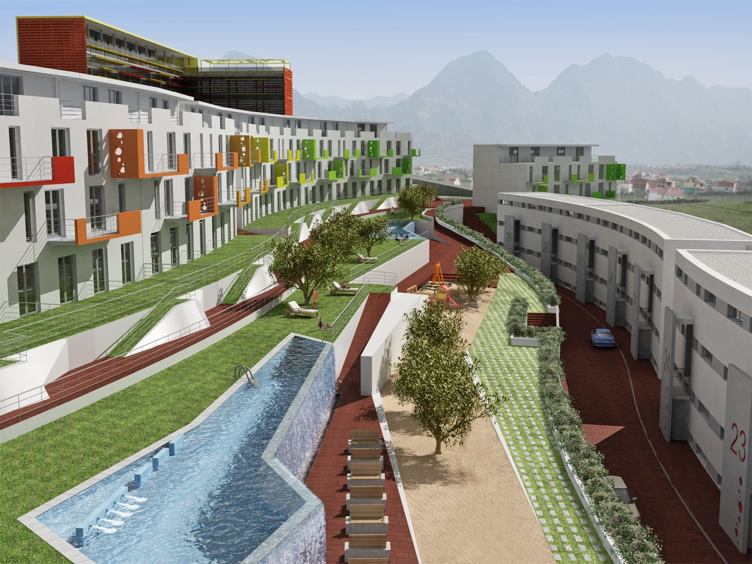 RESIDENTIAL - Green Valley - Tirana, Albania